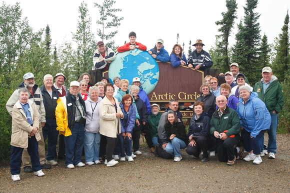 TOUR 21 at the Arctic Circle
